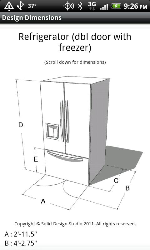 Design Dimensions- screenshot