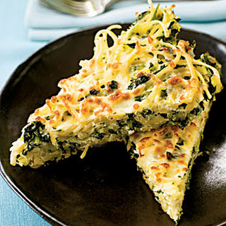 Linguine Frittata With Greens.
