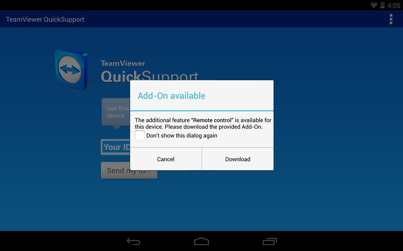 QS Add-On: Alcatel (e) - screenshot