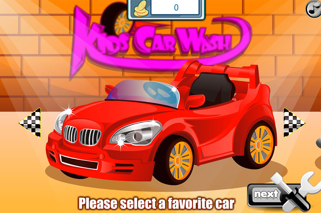 Kids Car Wash - screenshot