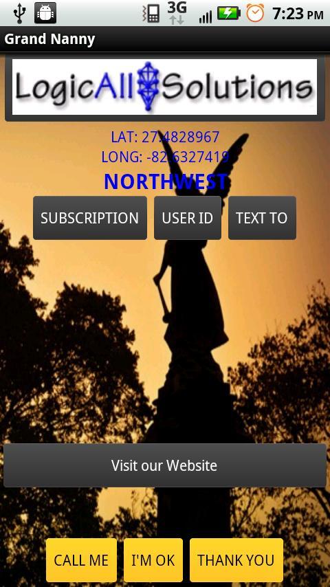 LAS Mobile Monitor- screenshot