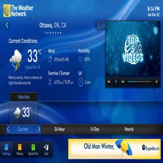The Weather Network- screenshot