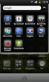 Plate Theme 4 GO Launcher EX Screenshot 3