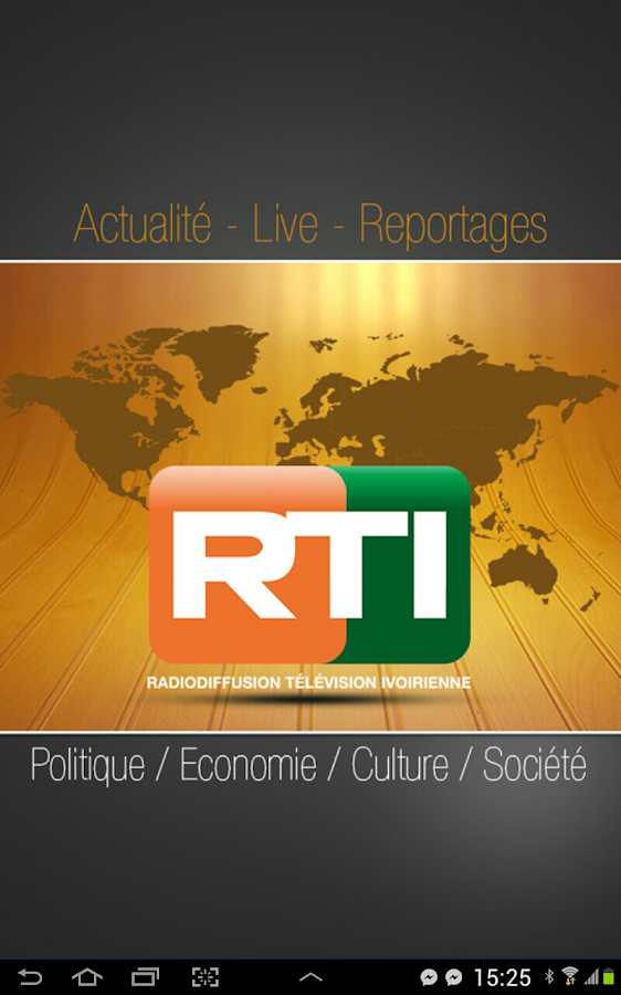 RTI Mobile – Capture d'écran