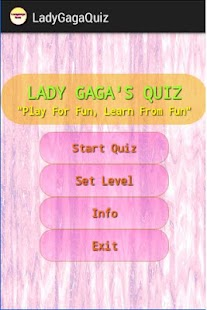 LadyGagaQuiz - screenshot thumbnail