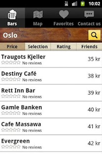 Beer Prices- screenshot thumbnail