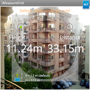iMeasureDistLite - screenshot thumbnail
