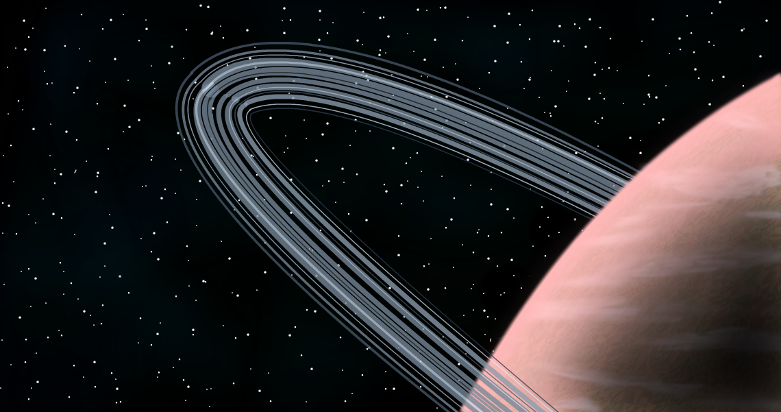 "Planet #9 - ""Rings - Attempt 2"""