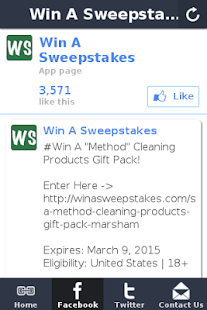 Win A Sweepstakes- screenshot thumbnail