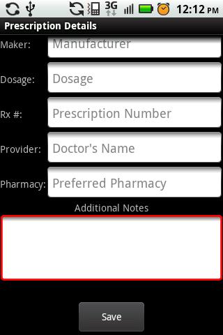 My Rx Info- screenshot