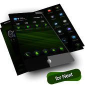 Next Launcher RubberGreen
