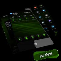 Next Launcher RubberGreen 1.4.4