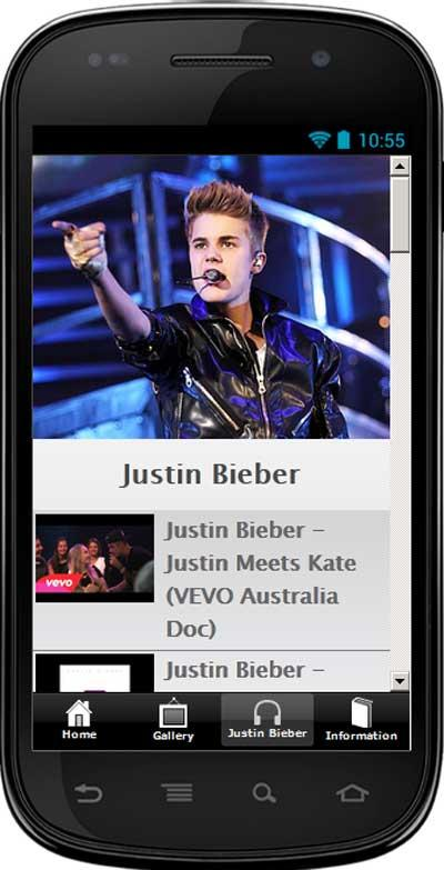 Justin Bieber Songs List - screenshot