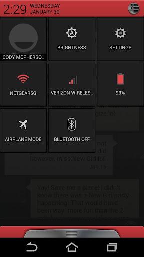 Alloy Red Theme CM10.1 v1.1 APK
