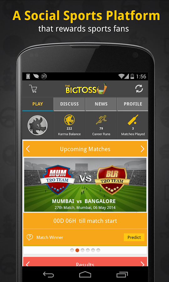 The Big Toss: Cricket- screenshot