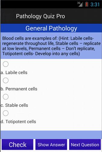 Medical Pathology Quiz Pro- screenshot