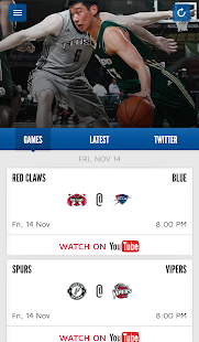 NBA D-League Center Court- screenshot thumbnail