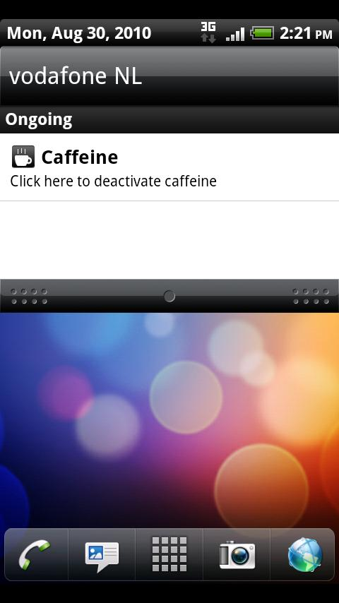 Caffeine - screenshot