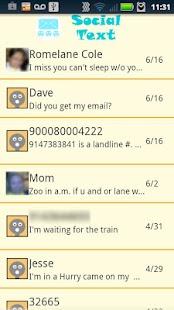Social Text- screenshot thumbnail