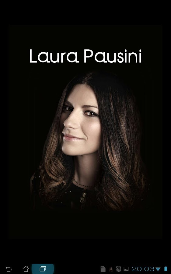 Laura Pausini's Music - screenshot