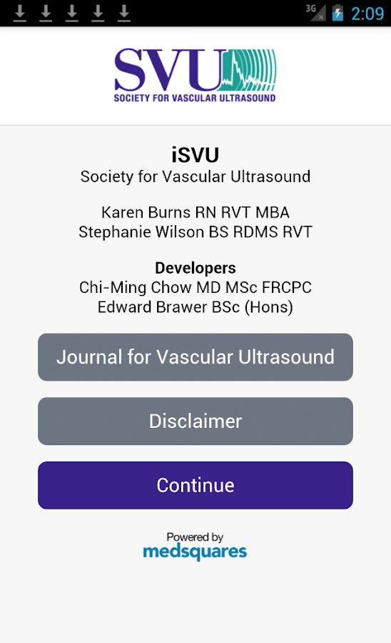 iSVU- screenshot