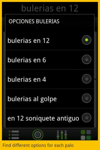 Flamenco Metronome PRO - screenshot