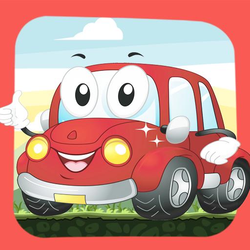 Cartoon Vehicles For Kids LOGO-APP點子