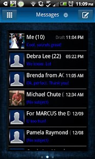 GO SMS - Lucid- screenshot thumbnail