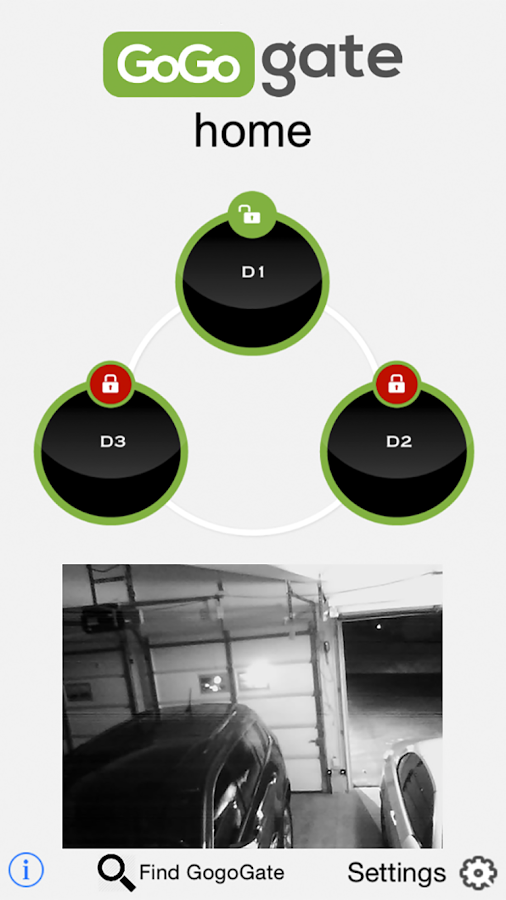 Gogogate open garage door android apps on google play