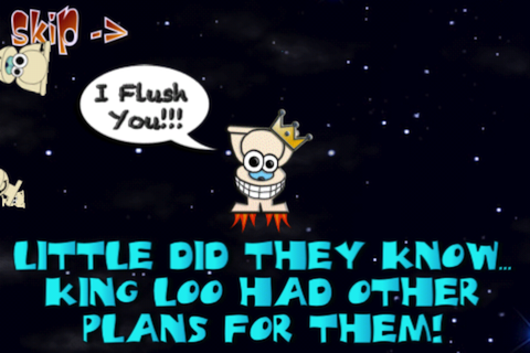 Angry Poo Space Free- screenshot