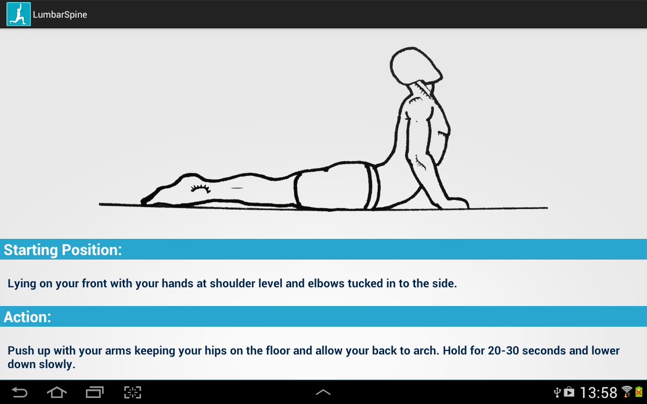 Simple Stretching Exercises - screenshot