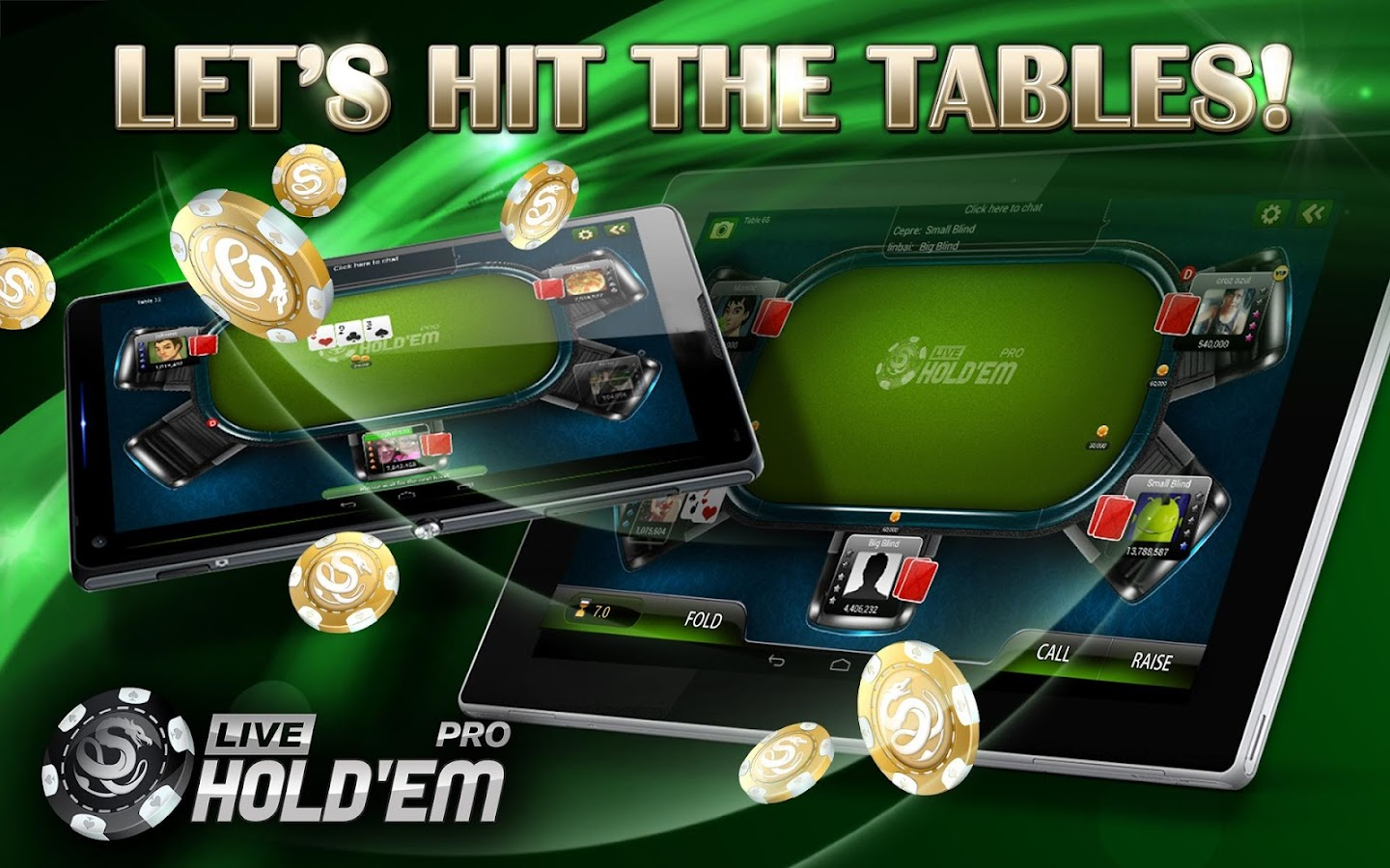 Live Holdem Poker Pro - screenshot