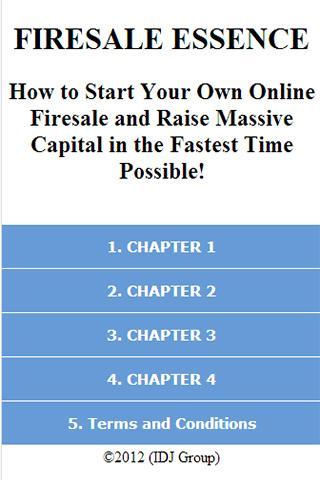 How to Start Online Firesale