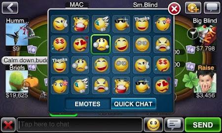 Texas HoldEm Poker Deluxe Pro 1.6.4 screenshot 7535