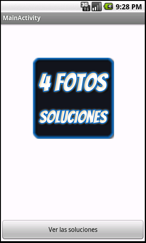SOLUCIONES 4 fotos 1 palabra- screenshot