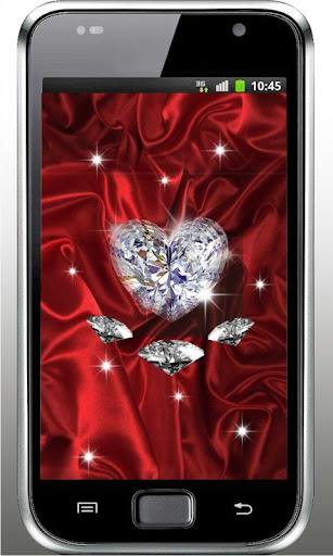 Diamond Heart 3D LiveWallpaper