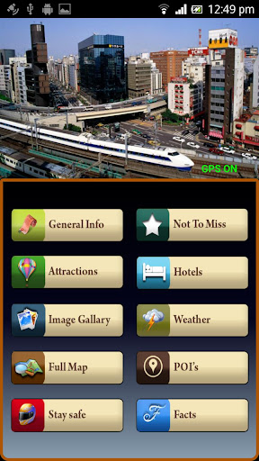 Tokyo Offline Map Travel Guide