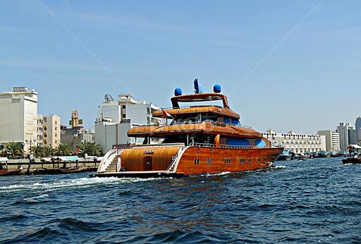 Mahogany Yacht By Tamsin Carlisle