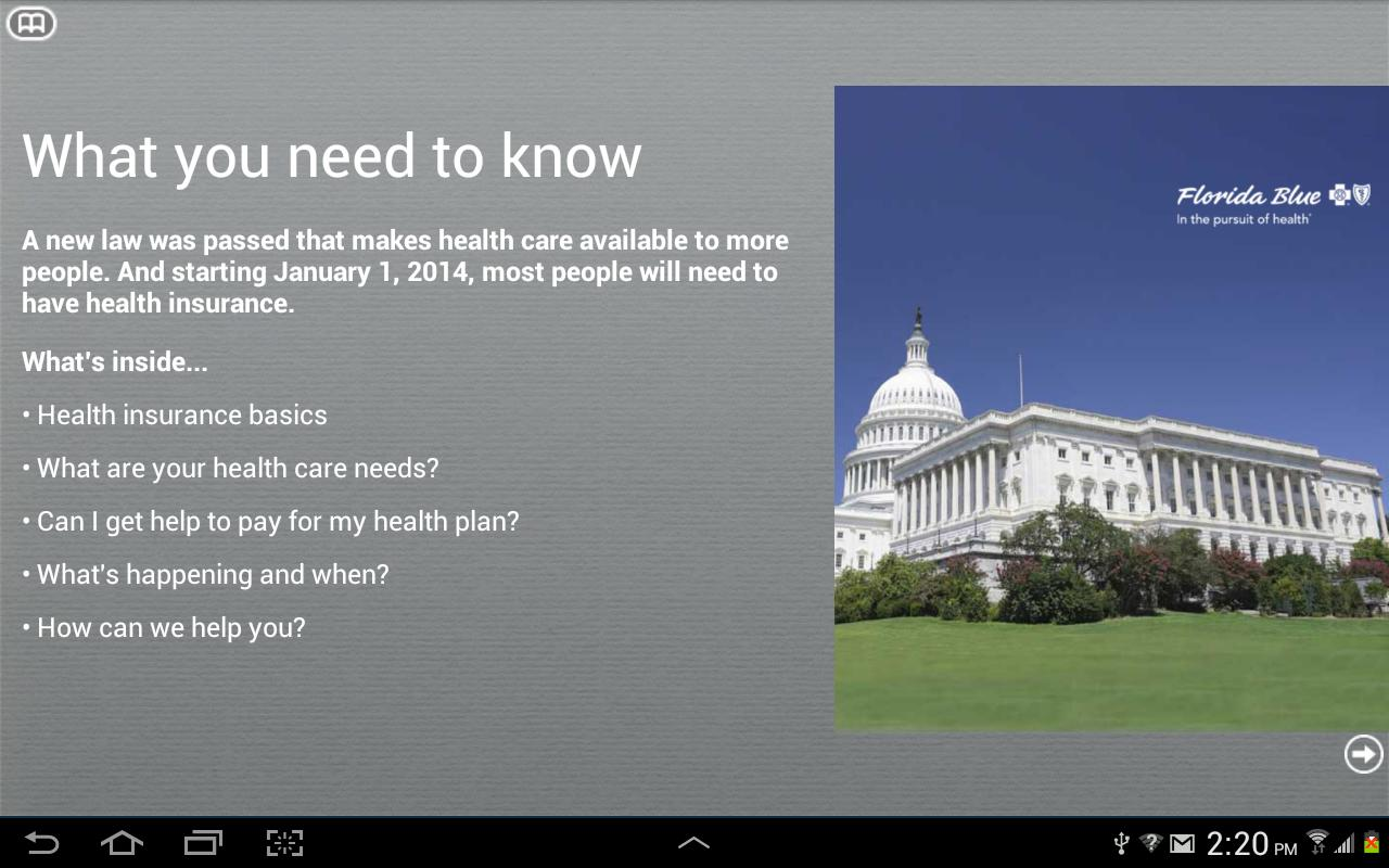 Health Care Reform and You - screenshot