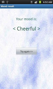 Mood Scanner- screenshot thumbnail
