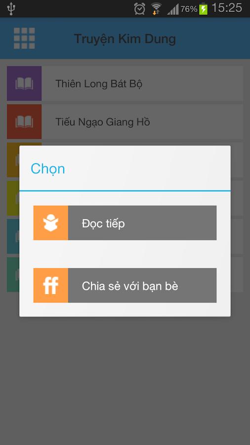 Truyen Kim Dung- screenshot
