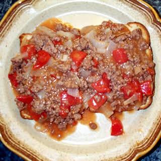 U.S. Navy Minced Beef On Toast.