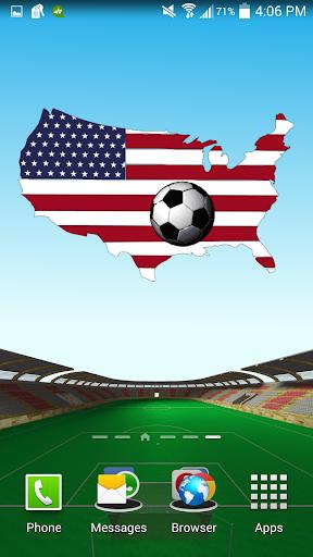 美國足球背景