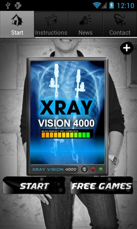 XRay Vision 4000 Booth Free - screenshot