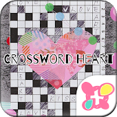 ★FREE THEMES★Crossword Heart