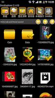 Screenshot of zero File Explorer (Manager)