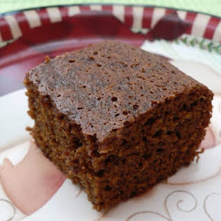 Low Fat Gingerbread Cake.
