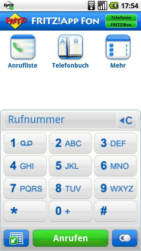 FRITZ!App Fon Lab - screenshot