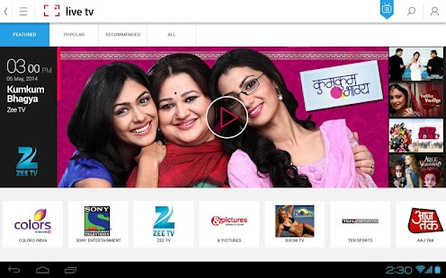 Ditto TV:LiveTV,TVShows,Movies - screenshot thumbnail