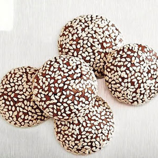 Chocolate-Sesame Cookies
